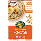 Nature's Path Organic Gluten-Free Instant Hot Oatmeal, Homestyle, 11.3 Ounce (Pack of 6)