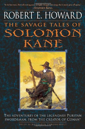 Book cover for The Savage Tales of Solomon Kane