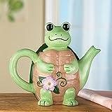 Happy Turtle Teapot
