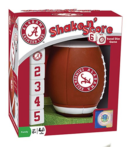 NCAA Alabama Crimson Tide Shake 'n Score Dice Game