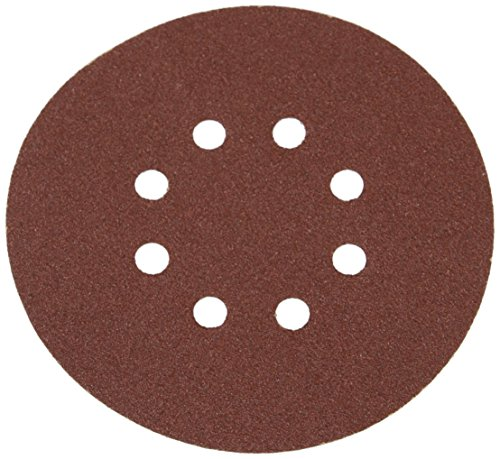 (Silverline 783148 Hook and Loop Discs Punched 80 Grit, 150 mm - Pack of 10)