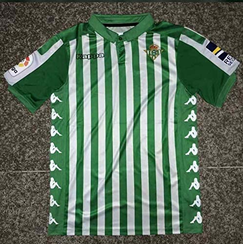 Real Betis Home Soccer Jersey 2019-2020 (Green, XL): Amazon.es ...