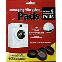 GDGs Anti Vibration Pads for Washing Machines and Dryers Vibration Solution Anti Pads Washing Machine Silent Feet Dryer