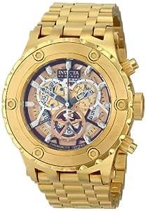 Invicta Men's 13744 Subaqua Analog Display Swiss Quartz Gold Watch