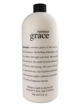 Philosophy Summer Grace Shampoo, Bath Shower Gel 32 Fl. Oz Jumbo Size