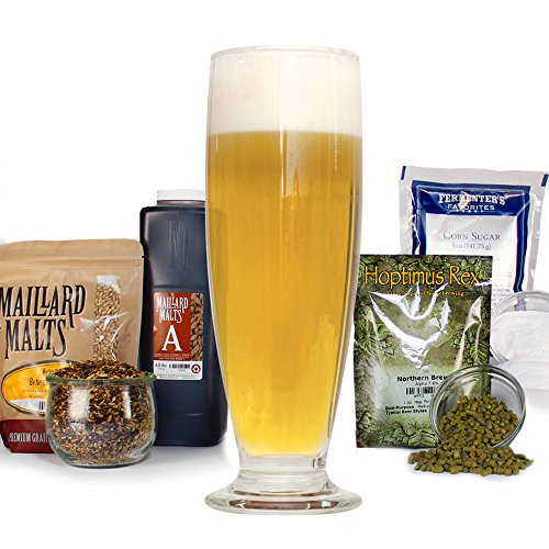 Ale Trappist Beer - Petite Saison D'ete Summer Session Malt Extract Beer With Specialty Grains - Home Brewing Farmhouse Light Ale Beer Making Recipe Kit - Ingredients For Making 5 Gallons Of Homemade Brew