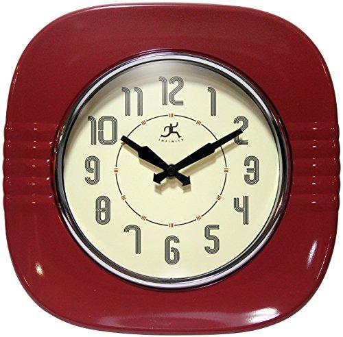 ki store silent wall clocks non ticking large round decorati