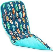 Protetor Capa de Carrinho Modelo Universal Dupla-Face Surf Prancha Azul, Momis Petit, Colorido, Universal