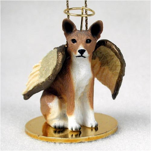 Conversation Concepts Basenji Pet Angel Ornament