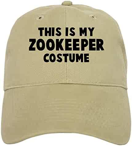 f17e531d85b CafePress - Zookeeper costume Cap - Baseball Cap with Adjustable Closure