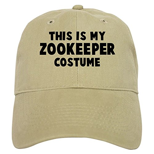 CafePress - Zookeeper costume Cap - Baseball Cap with Adjustable Closure, Unique Printed Baseball (Zookeeper Costume)