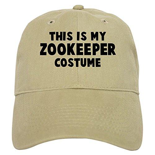 Adult Vintage Baseball Costumes (CafePress - Zookeeper costume Cap - Baseball Cap with Adjustable Closure, Unique Printed Baseball Hat)
