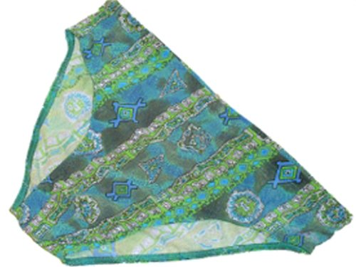 Solar Tan Thru Badehose Slip 140906 grün
