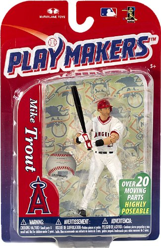 McFarlane Playmakers: MLB Series 4 Mike Trout - L.A. Angels 4 inch Action Figure
