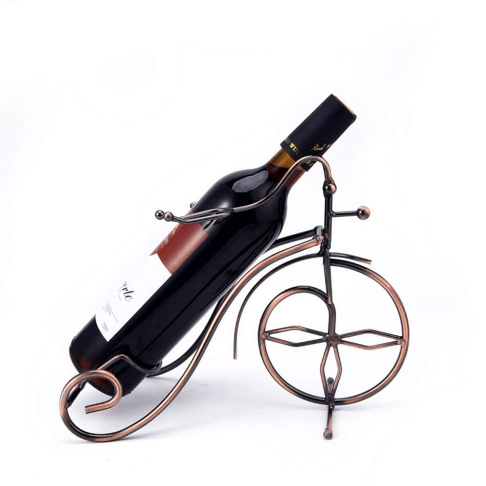 Amazon.com: YYQX Metal Wine Rack, Retro Creative Bicycle Wine Bottle on