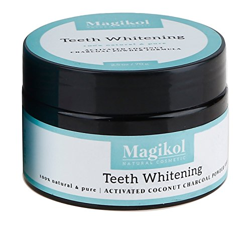 Magikol Teeth Whitening Activated Coconut