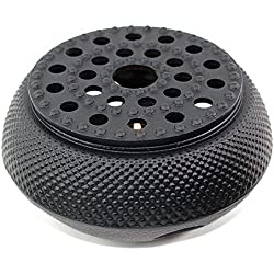 Black Hobnail Small Dot Japanese Cast Iron Tetsubin Teapot Warmer