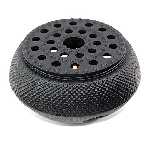 - Black Hobnail Small Dot Japanese Cast Iron Tetsubin Teapot Warmer