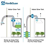 Hon&Guan 6 inch Carbon Filter Odor Control for