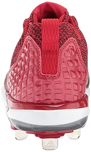 pictures for sale sale best store to get adidas Originals Men's Freak X Carbon Mid Softball Shoe Power Red/Metallic Silver/White discount brand new unisex 3vt3CBJq