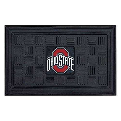 Fanmats Ohio State University Medallion Door Mat Size=19