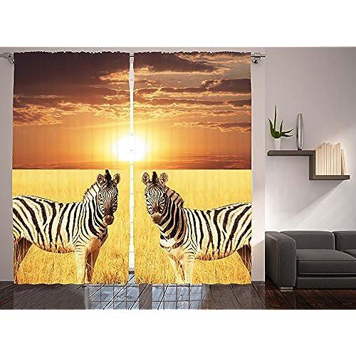 African Print Curtains Amazon Com