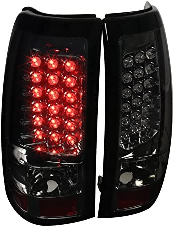 Spec-D Tuning LT-SIV03GLED-TM Smoked LED Tail Light