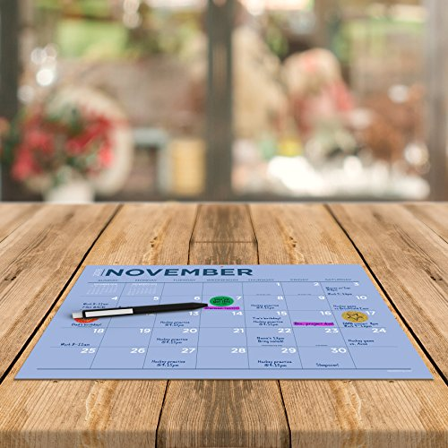TF Publishing 19-8548A July 2018 - June 2019 Color Collection Mini Desk Pad Calendar, 12 x 9'', Multi Colored by TF Publishing (Image #6)