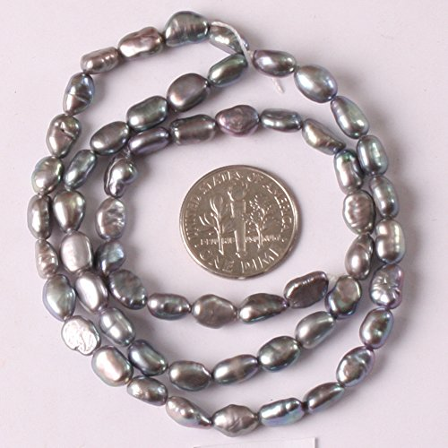 Round Gray Freshwater Pearls - 2