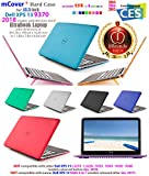 iPearl mCover Hard Shell Case for early 2018 13.3 Dell XPS 13 9370 models ( not fitting older L321X L322X 9333 9343 9350 9360 9365 models) Ultrabook laptop - Dell-XPS13-9370 Black