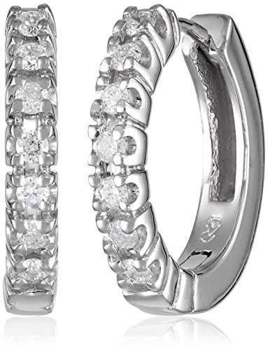 White Diamond Earrings Color Clarity