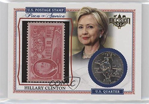 Hillary Clinton (Trading Card) 2016 Decision 2016 - for sale  Delivered anywhere in USA