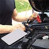 Molyflower-MX 12V 20000mAh Multifuncional Car Jump Starter Power Booster Cargador de batería Blanco