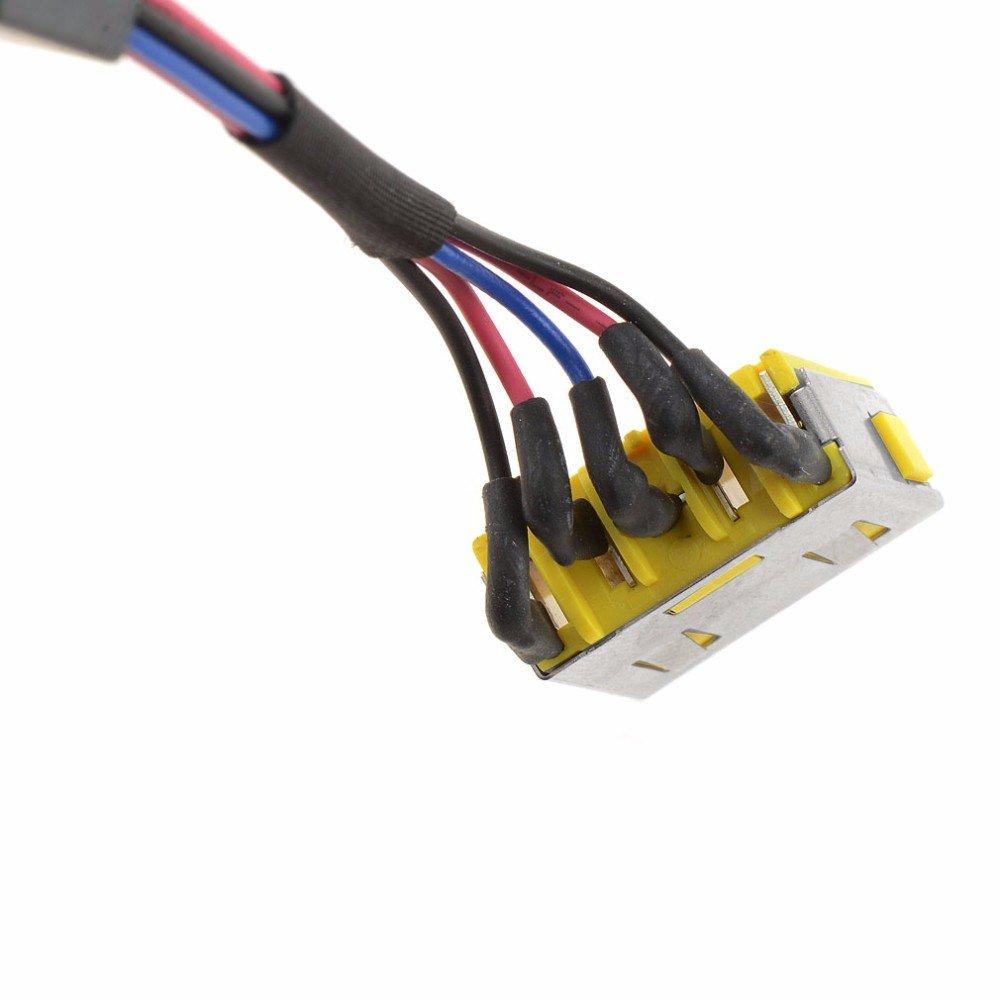 Gintai Conector de alimentaci/ón DC Jack de cable de alimentaci/ón de repuesto para Acer Aspire E15 ES1-512-C88M ES1-531