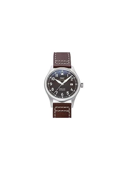 IWC Pilot marca XVIII edición automático Brown Dial Mens Reloj iw327003: Amazon.es: Relojes