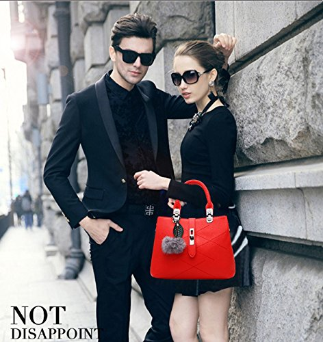 Nicole Handbags pour Gris amp;Doris Écarlate Gris gris Pochette femme wf4wUq