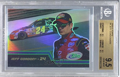 Jeff Gordon BGS GRADED 9.5 (Trading Card) 2003 eTopps NASCAR - [Base] #4