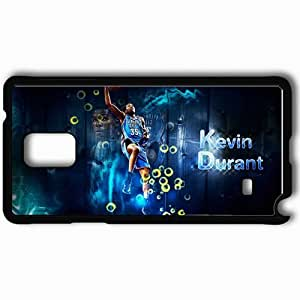 Personalized Samsung Note 4 Cell phone Case/Cover Skin 14940 Kevin Durant by nerka23 Black