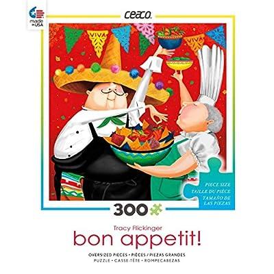 Ceaco Bon Appetit - Cinco de Mayo Puzzle: Toys & Games