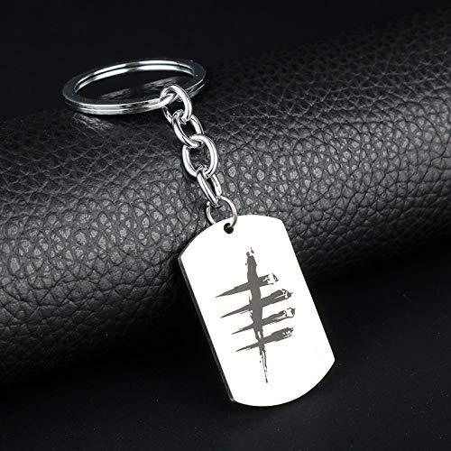 Amazon.com: YPT - Llavero con diseño de cadena de llavero y ...