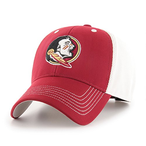 Ncaa Florida State Seminoles Mesh - NCAA Florida State Seminoles Sling OTS All-Star MVP Adjustable Hat, Cardinal, One Size