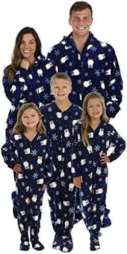 SleepytimePjs Family Matching Penguin Onesie PJs Footed Pajamas 29665df6a