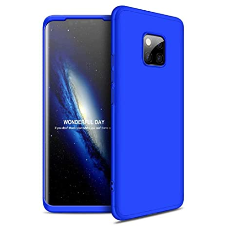 FHXD Compatible con Funda Huawei Mate 20 Pro Anti-Shock 360° Carcasa Case Cover Protectora [Protector de Pantalla] Ultra Thin Anti-Scratch 3 in 1 Caso ...