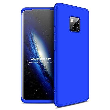 FHXD Compatible con Funda Huawei Mate 20 Pro Anti-Shock 360° Carcasa Case Cover Protectora [Protector de Pantalla] Ultra Thin Anti-Scratch 3 in 1 Caso ...
