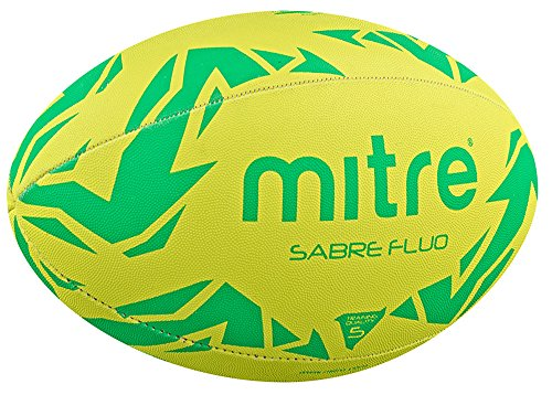 mitre Sabre Rugby Ball Fluo Size 3