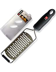 di Oro Living Premium Cheese and Vegetable Grater - 18/8 Stainless Steel Blade, Ergonomic Handle