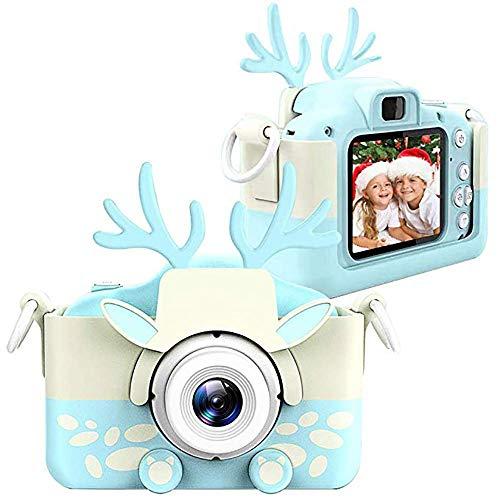 Kamera Für Kinder, HD 2,0 Zoll Mini Wiederaufladbare Kinder Digitalkamera, Stoß- Video Camcorder Geschenke Mit Akku Für…