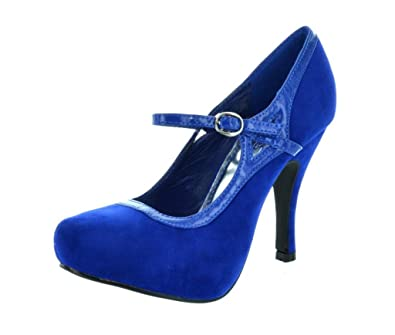 c80d14842d4 Sassy Sexy Trenda Women's Classy Mary Jane Almond Toe High Heel ...