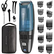 Remington HC6550 Cordless Vacuum Haircut Kit, Vacuum Trimmer, Hair Clippers, Hair Trimmer, Clippers