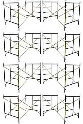 "Eight Set New Flip Lock 5' X 5'1"" X 7' Masonry Scaffolding Frame Sets CBMSCAFFOLD"